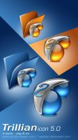 Trillian Icons 5.0 by weboso