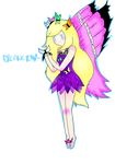 Dreamer the Butterfly Fairy by Ask-BlaineStarcross