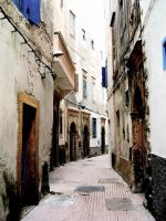 Street in Morocco by louslostmojo