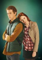 Rory and Amy - 'The Doctor's Wife' by eclecticmuse