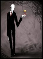 Slender man for my friend by HelavisKrew