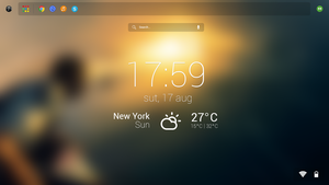 GoogleOS Concept - Homescreen by andreafilisitosovna