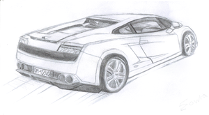 Gallardo sketch by sowia