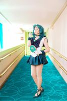 Sailor Neptune - Anime Boston 2015 by King-Bobbles