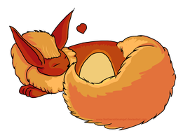 Daddy Flareon by SongThread