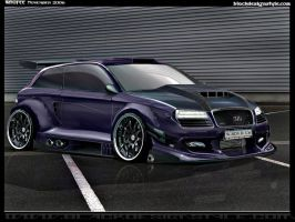 Audi A-3 Beast by Wrofee by Wrofee