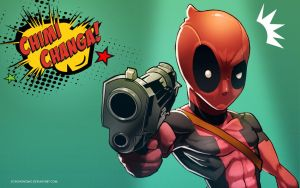 Deadpool Wallpaper by SoyUnGnomo