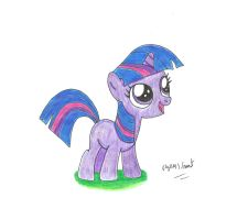 Cute Filly Twilight by UlyssesGrant