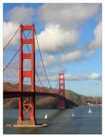 Golden Gate by crazylama