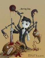 Boring day by polawat