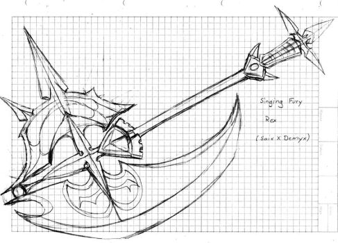 Singing Fury (KH rollplay weapon design) by ZigfriedVonSchroider