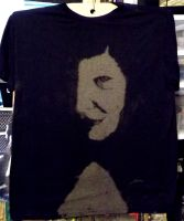Sultry Woman On A Shirt by DougBaltz