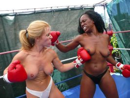Topless Female Boxing : Moore vs Johnson 27 by Virgil1984