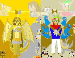 Mixel Force Ch4 by SonicAsura