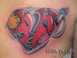 STITCHED HEART by amduhan