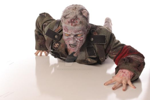 Call of Duty Nazi Zombie Cosplay Revamped 2 by The-Katherinator