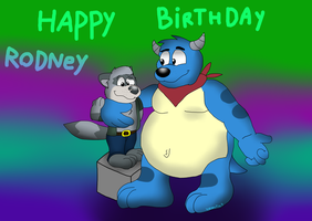 Happy Birthday Rodney by valentinfrench