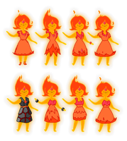 Flame Princess's designs for Vault of Bones by StickMandA