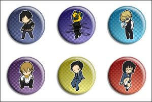 DRRR Buttons by Maxx-V