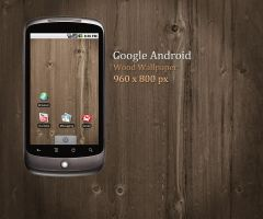 Android Wood Wallpaper by Martz90