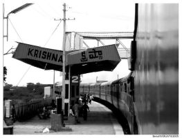 :India: Krishna Station by nebpixel