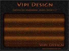 Pattern - Rusty Metal v.1 by elixa-geg