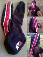Mass Effect Beanie by RebelATS