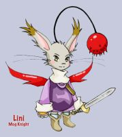 Lini the FF Moogle Knight by bishie-keeper