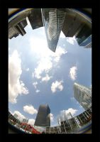 La Defense Fisheye 2 by Blofeld60