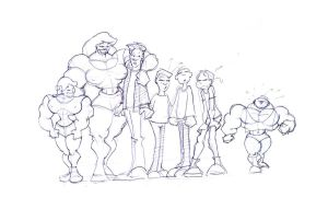 Muscle family by MUS1969