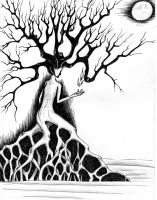 Mother Nature in Ink scanned by KCJoker33