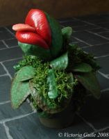 Audrey?  Mini Strange Plant by NJD-Miniatures