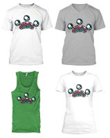 Monster Face Shirts by loveandasandwich