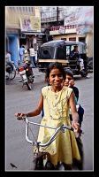Two on a bike. Uddaipur. India by jennystokes