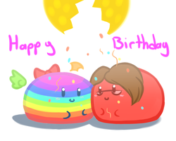 Happy Birthday Wave~! by TheEternalFlare