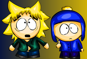 Tweek and Craig by AlliCali