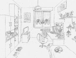 My Room by giulal