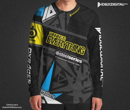 id820 official downhill jersey by id820