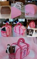 Dog Bag Cake Step-by-step by Verusca