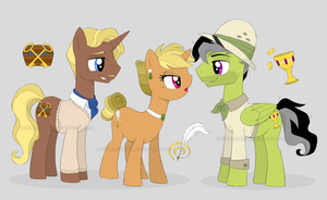 Daring Do's Family by ShadOBabe