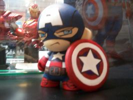 Munny: Captain America by KidNotorious
