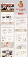 OMG - Religion Style PSD Single Page by GranthWeb
