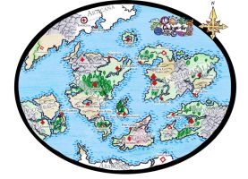 EH World Map by oOToetjeOo