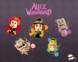 Alice in wonderland FIMO by buzhandmade