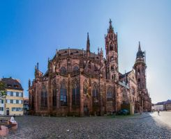 Freiburg Minster by mib4art