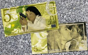 The Weng-Weng 5 Euro Bill by ALilZeker