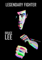 Bruce Lee - WPAP by abimahan