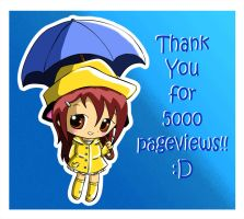 5000 Pageviews by moo-chi-64