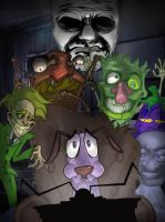 Courage the Cowardly Dog by jeff4hb