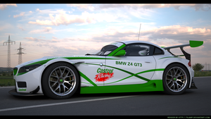 BMW Z4 GT3 Custom Castrol racing 1 by RJamp